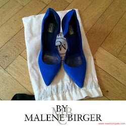 Princess Victoria Style  BY MALENE BIRGER Pumps -and RALPH LAUREN Bag