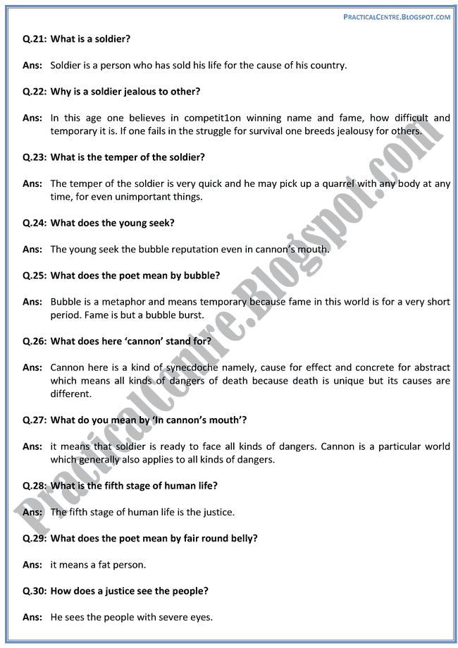 The-Seven-Ages-of-Man-Poem-Questions-Answers-English-XII