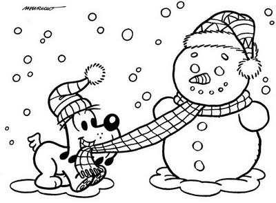 imagens para colorir de inverno - Desenhos de Inverno para colorir jogos de pintar e imprimir