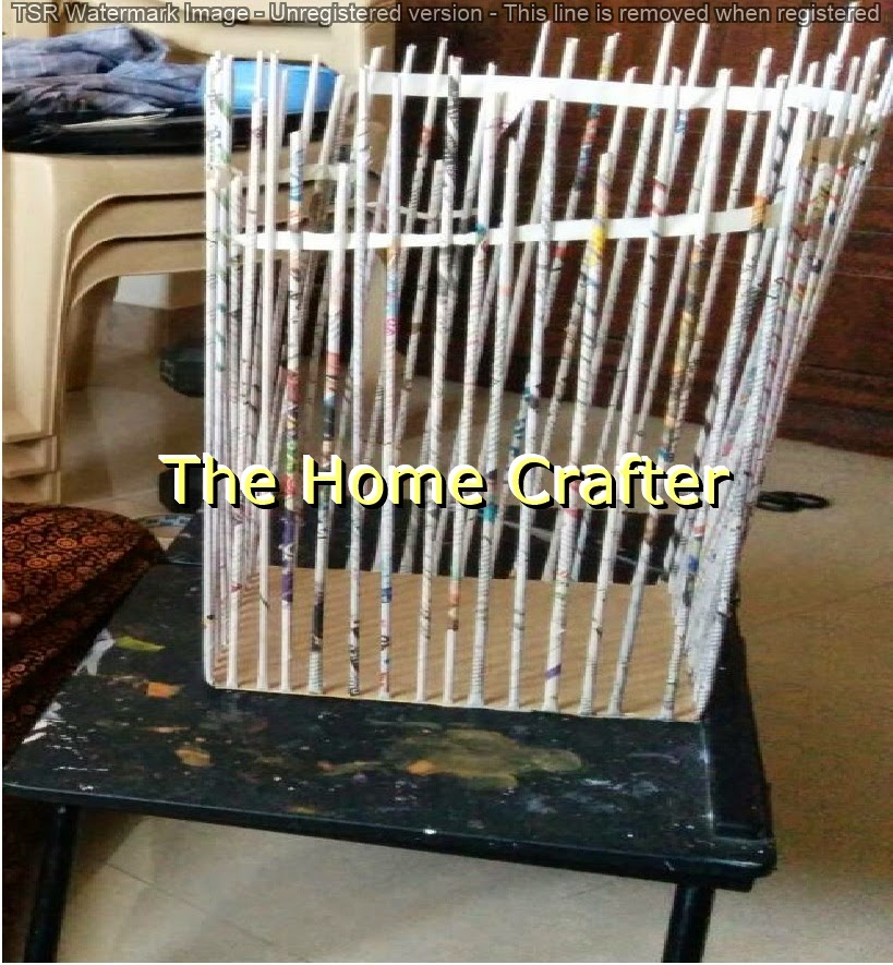 Basket Weaving At Home : The home crafter newspaper baskets diy