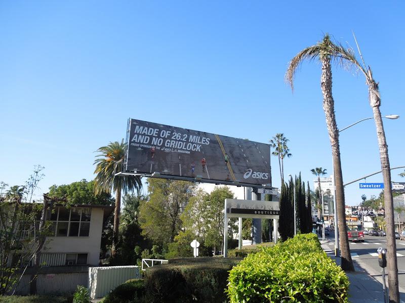 Asics no gridlock billboard