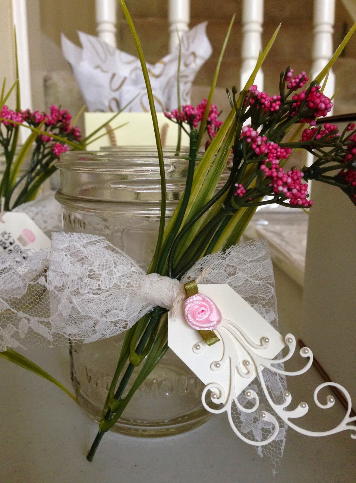 These Were The Centerpieces That Went On All Tables