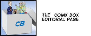 Cartoonist Comx Box Editorial Page