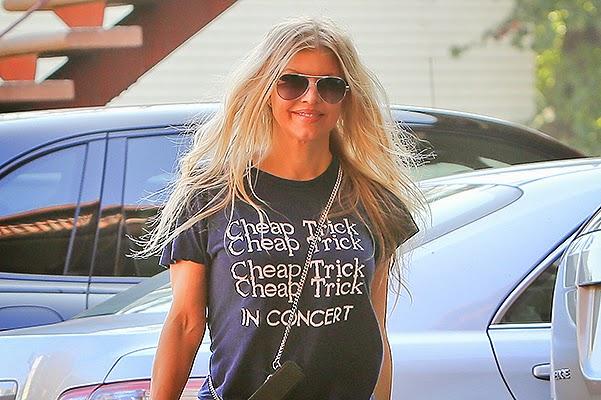 Celebrity street style: Fergie in Los Angeles