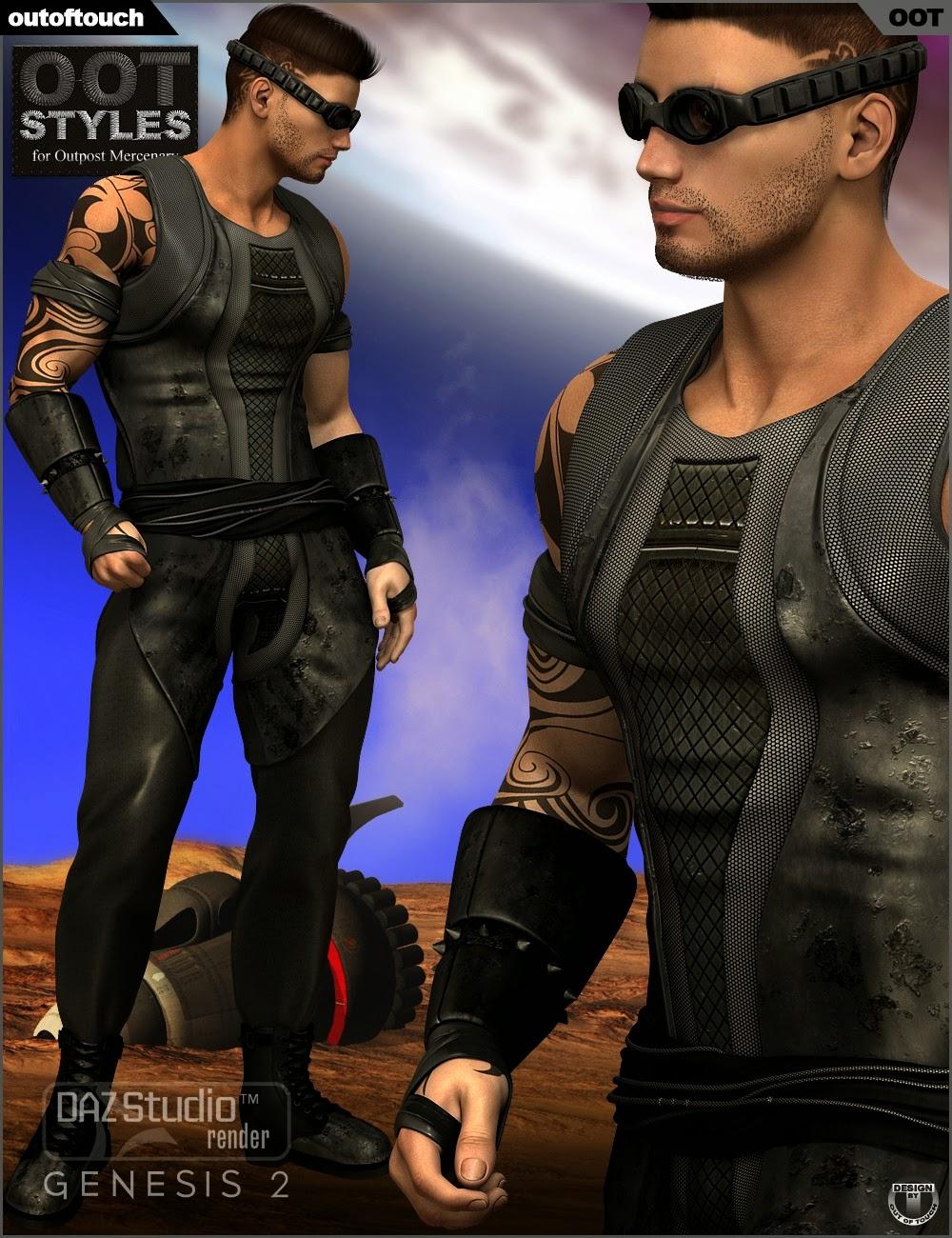 Styles de OOT pour Outpost Mercenary Genèse 2 Homme