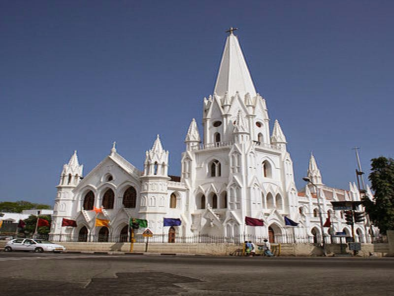St Thomas Basilica, Chennai, India
