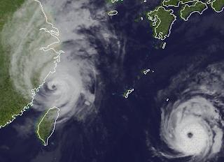 Taifun DANAS Japan Korea, 2013, aktuell, Danas, Japan, Korea, Oktober, Satellitenbild Satellitenbilder, Taifunsaison 2013, Vorhersage Forecast Prognose