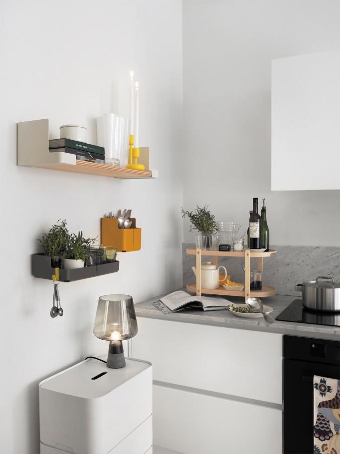Decordots Kitchen: Aitio Shelves By Cecilie Manz For Iittala
