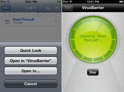VirusBarrier iOS