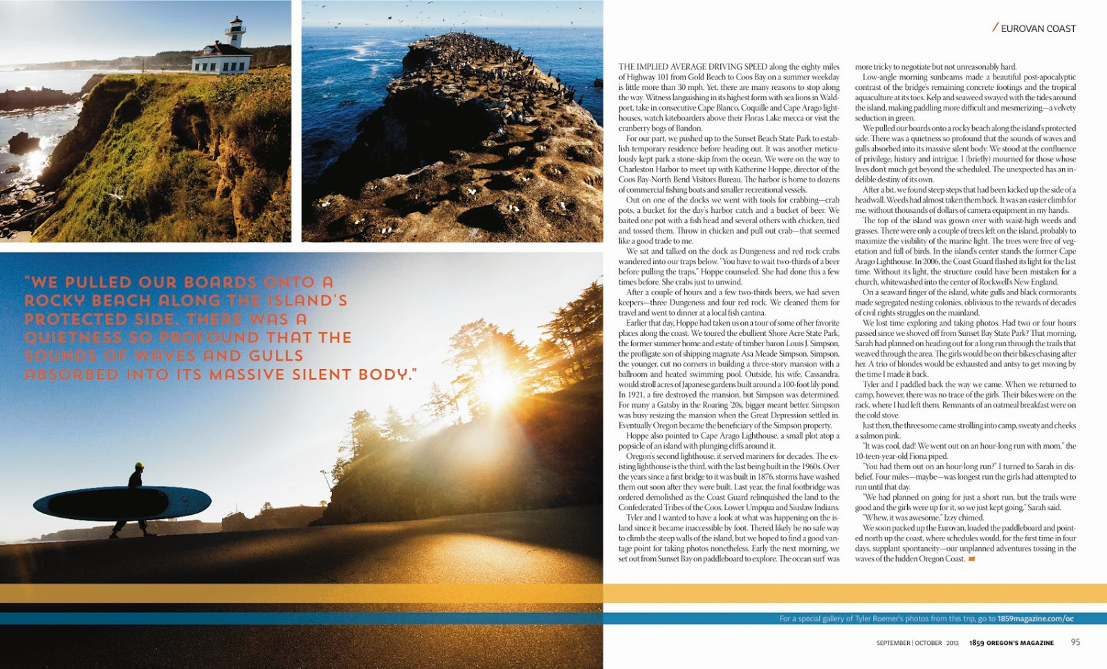 VW On The OC 1859 Magazine Outdoor Adventure Action Sports