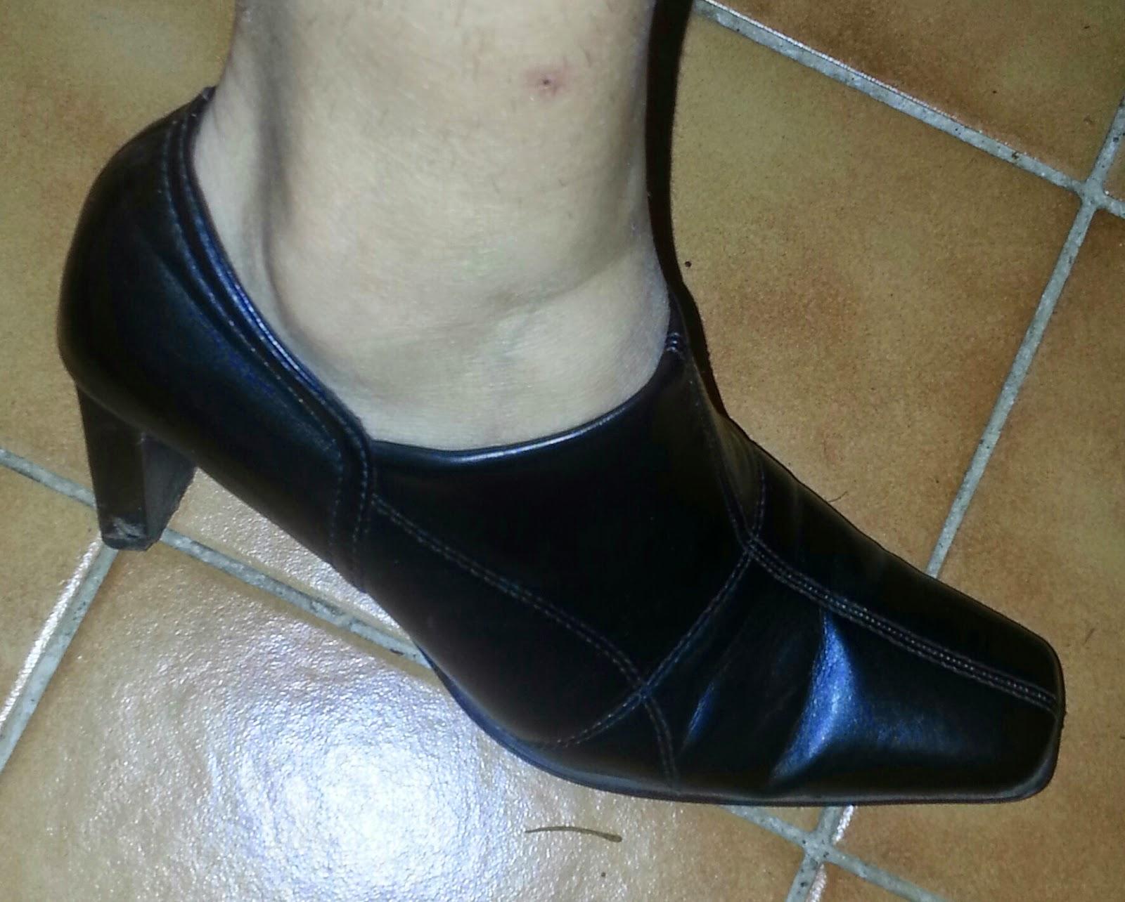 skor till begravning