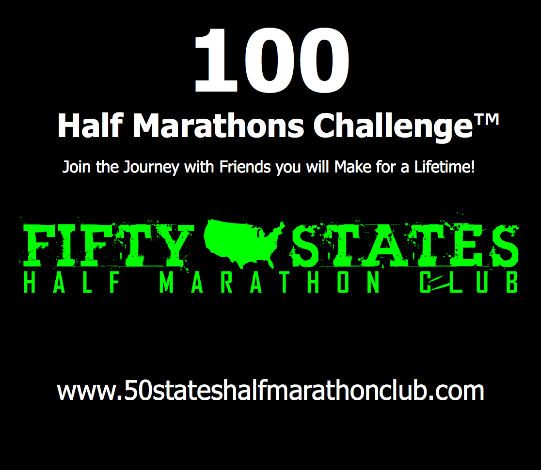 100 Half Marathons - Club Challenges of Fifty States Half Marathon Club