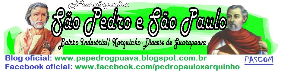 PASCOM - Paróquia São Pedro e São Paulo