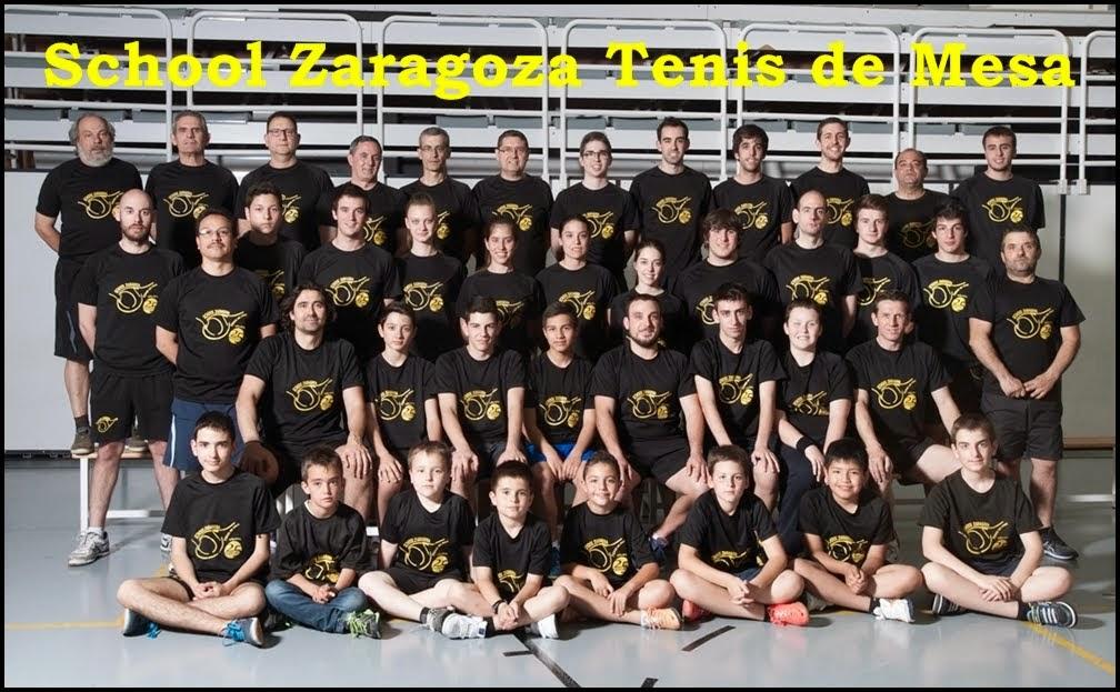 School Zaragoza Tenis de Mesa