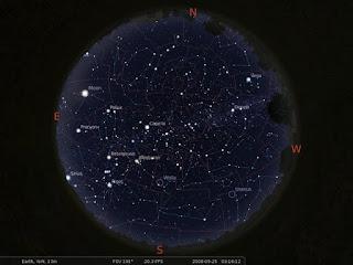 Stellarium برنامج مجاني لإستكشاف الكون والفضاء والكواكب والأجرام السماوية الأخري