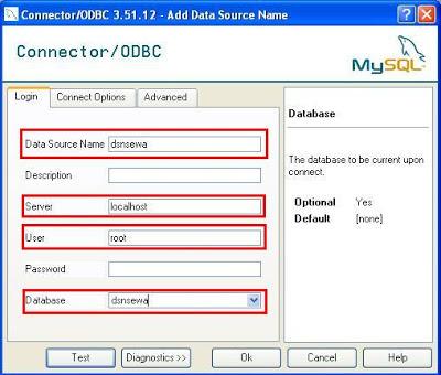 Cara Membuat Koneksi MySQL ODBC-5