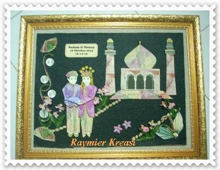 Raymier Kreasi: Mahar Uang Bentuk Pengantin & Masjid