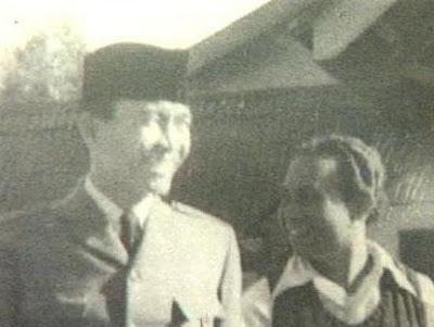 Presiden RI Ir. Soekarno dan Djaga Depari