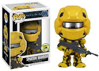 Funko Pop! Spartan Warrior Yellow sdcc 2013