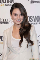 Mila Kunis @ Cosmopolitan Magazine's Fun Fearless Males of 2011 event