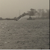 [PHOTO] Petrol Ship Tanker Catches Fire At Snake Island In Lagos