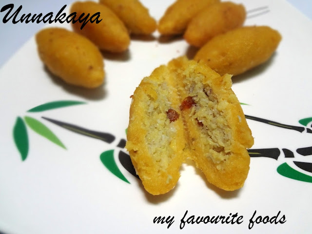 UNNAKKAYA (Sweet with Banana)
