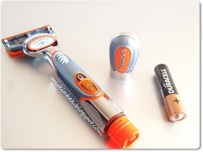 Erkeklere Özel Bakım : Gillette Fusion Power Tıraş Makinesi