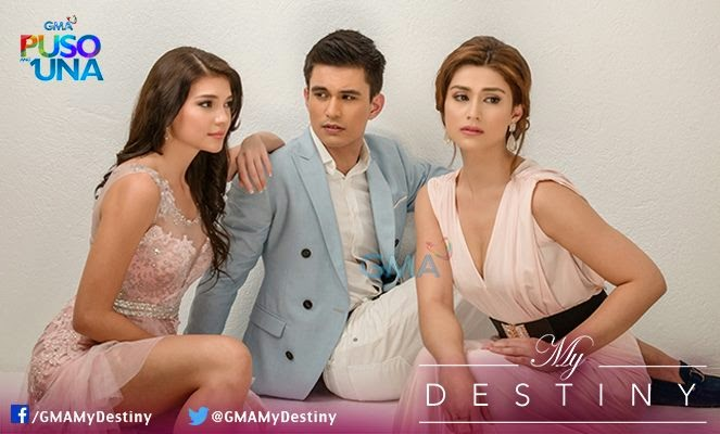 GMA7's My Destiny starring Carla Abellana And Tom Rodriguez debuts strong with 22.7%