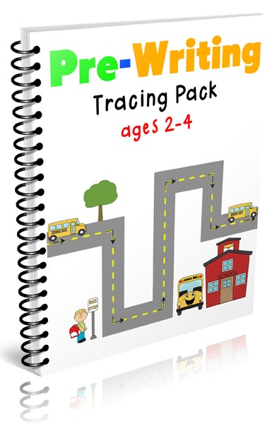 Pre-Writing Pack for Toddlers