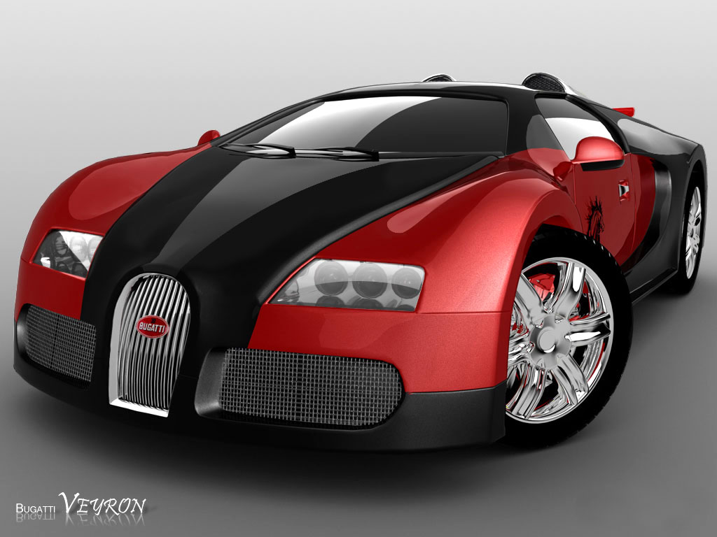 super jump cars bugatti veyron red and black. Black Bedroom Furniture Sets. Home Design Ideas