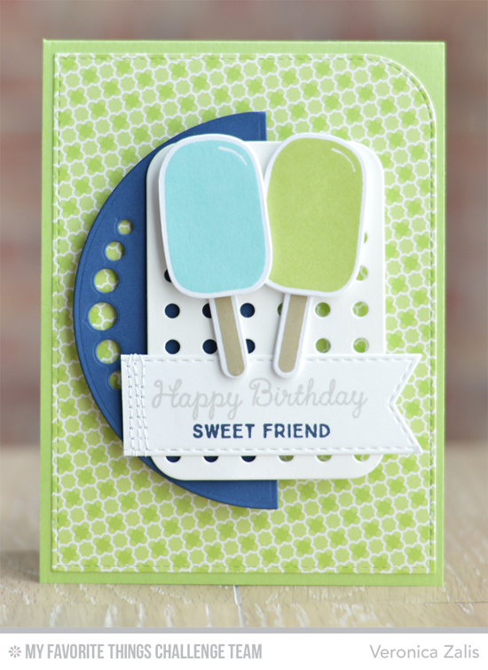 Sweet Friend Card from Veronica Zalis featuring the LJD You're the Sweetest stamp set and Die-namics