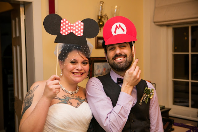 At-Home Disney Wedding - Jenn and Bob
