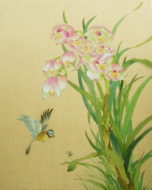 Blue bird in Spring time