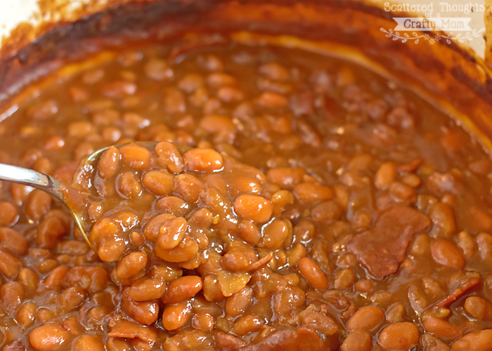 Easy Baked Beans Recipe | Scattered Thoughts of a Crafty Mom