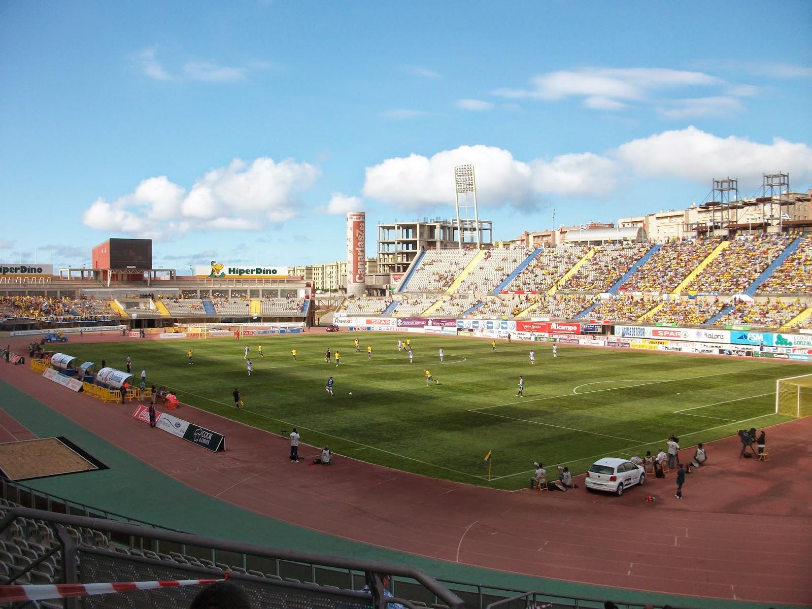 Solo 8832 espectadores en el UDLasPalmas - SDPonferradina