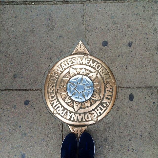 Princess Diana memorial walk Hyde Park