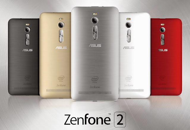 ASUS ZenFone 2 colors