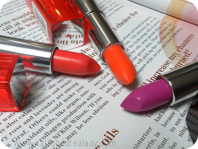 A picture of Maybelline ColorSensational Vivds Lipsticks