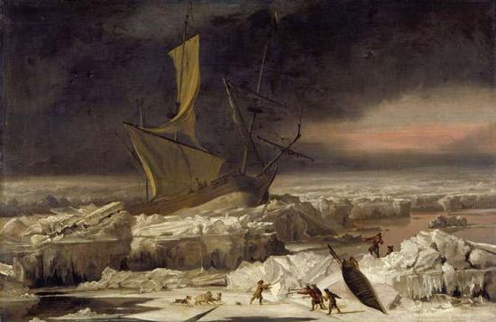 Arctic Adventure 1677 Abraham Hondius