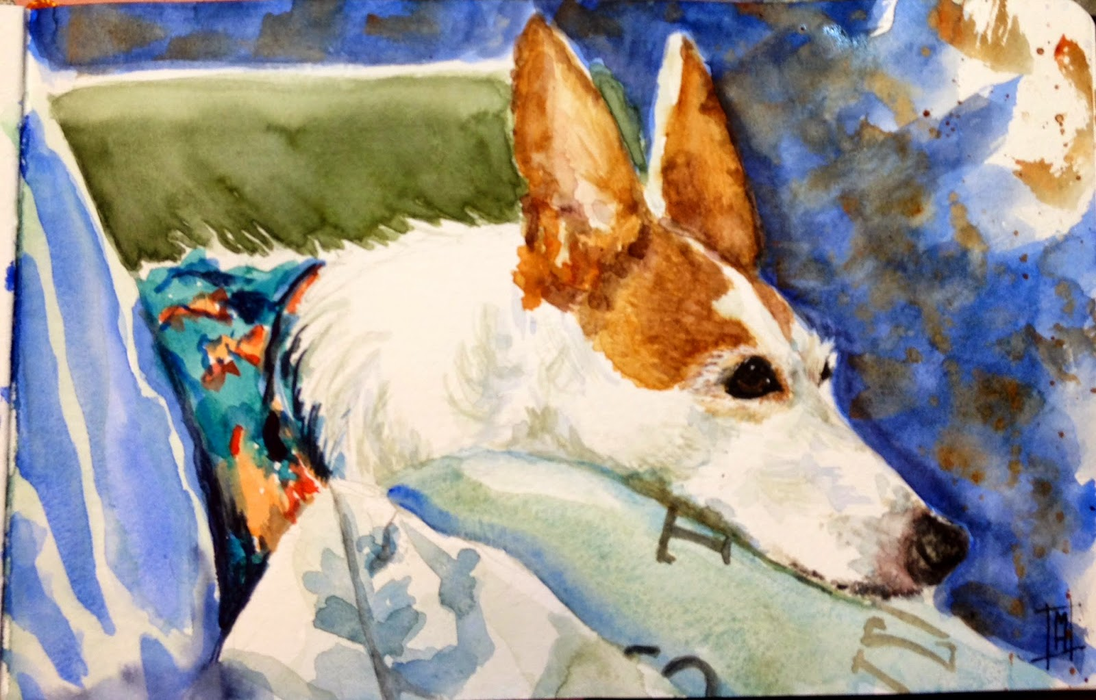 MaggieART Margaret McCarthy Hunt Day 60 Another Zoe