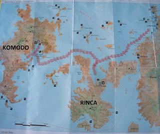Ruta Rinca y Komodo