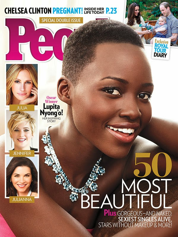 Lupita Nyong'o Is  People Magazine's Most Beautiful Woman