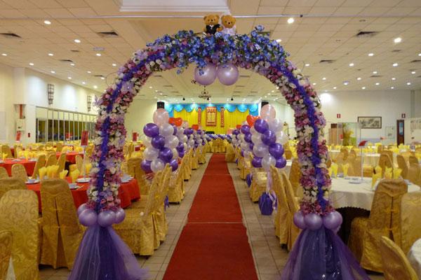 صور افراح فراشة للتصميم Wedding-balloon-ideas