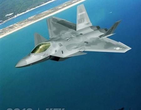 Desain 3D Pesawat IFX/KFX -  Rancangan Korea - Indonesia