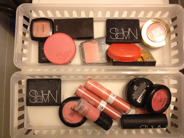Blush Collection and Storage