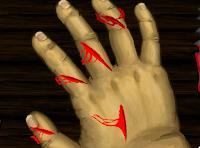 Cortar o dedo