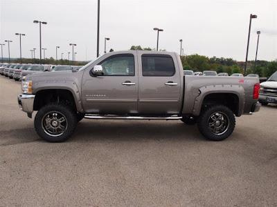 Lifted Trucks For Sale: 2013 Chevy Silverado Rocky Ridge Conversion