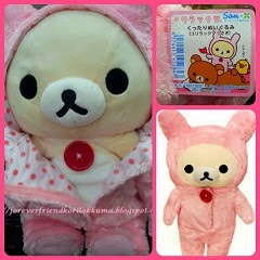 (INSTOCK) Click Photo To See 2007 RARE BIG Korilakkuma Plush In Rabbit Costume For Sale