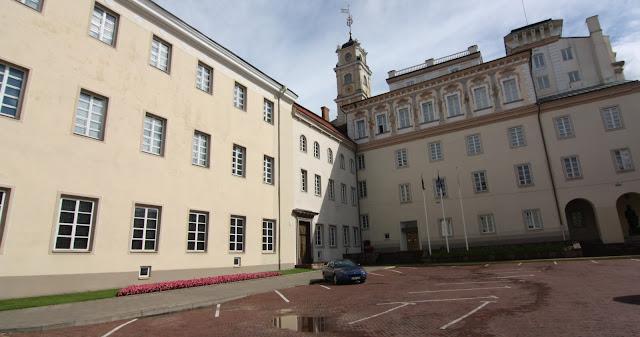 Vilnius, Vilna, Lituania, Universidad