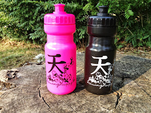 16 oz Black Water Bottle